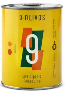 Azeite de oliva 9-Olivos, Arbequina