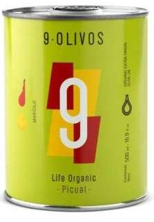 Azeite de oliva 9-Olivos, picual