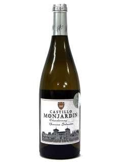 Caso dos vinhos brancos Castillo Monjardín Chardonnay Fermentado en Barrica