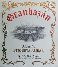 Caso dos vinhos brancos Granbazan Etiqueta Ambar