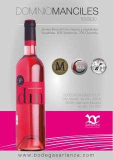 Vinho rosé Dominio de Manciles, Rosado