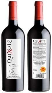 Vinho tinto Quixote MBCF 2009